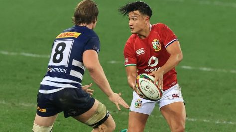 Marcus Smith in action for the Lions