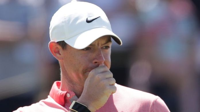 Rory McIlroy finished fourth at the BMW Championship on Sunday