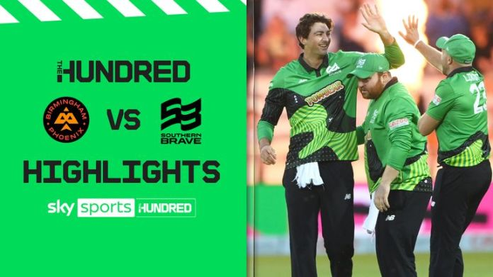 Highlights from the Southern Brave's victory over Birmingham Phoenix in the final of The Hundred at Lord's.