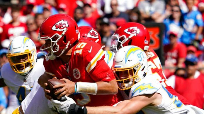 Highlights of the the Los Angeles Chargers against the Kansas City Chiefs from Week 3 of the 2021 season