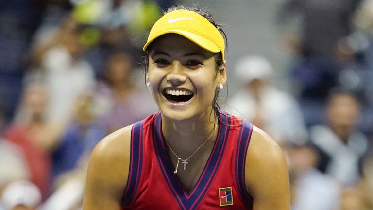 Emma Raducanu could be in line to face her idol Simona Halep at the BNP Paribas Open in Indian Wells should they both win their opening matches