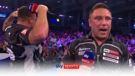Gerwyn Price said the crowd were absolutely pathetic after receiving boos during his 3-0 win over Dave Chisnall.