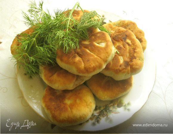 Жареные пирожки с картошкой., пошаговый рецепт, фото ...