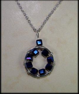 Cog necklace