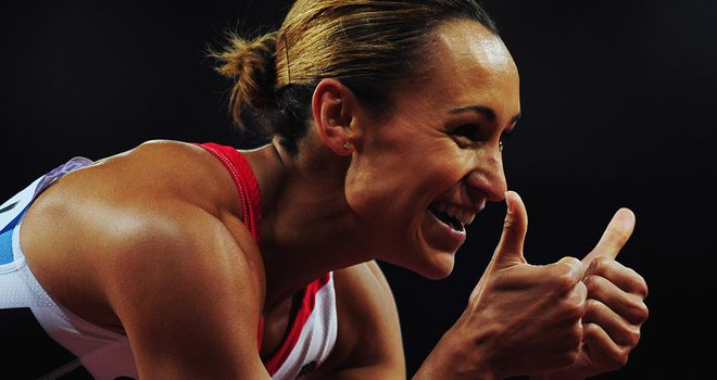 Jessica Ennis, New household name, how long will it last? Well how long do the Olympics last?