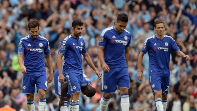 Chelsea have won only two of eight Premier League games this season