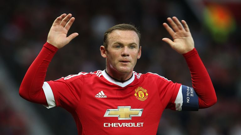 Wayne Rooney sustained a hamstring injury in training