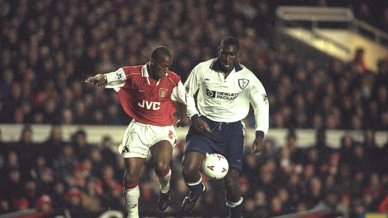 Image result for arsenal 3-1 spurs 1996