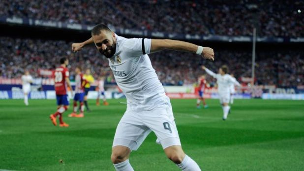 """Karim Benzema says he """"laughs"""" at rumours linking him away from Real Madrid"""