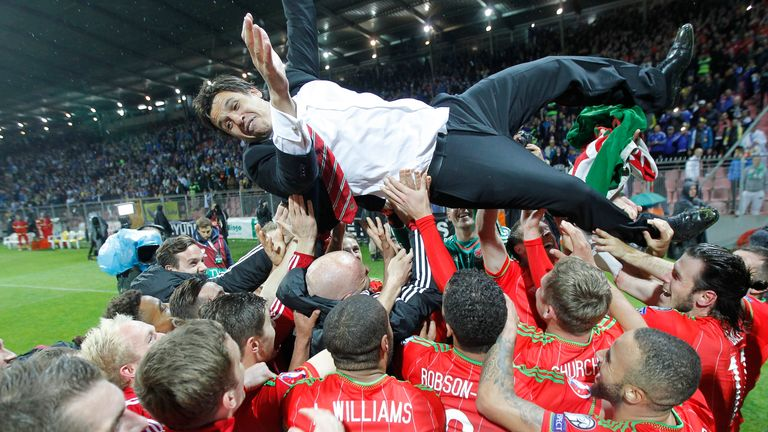 Chris Coleman had a close relationship with his Wales players and enjoyed success