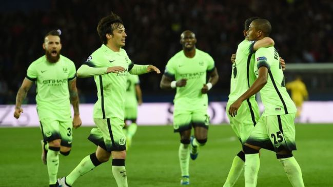 Fernandinho netted a vital equaliser to put City in the driving seat