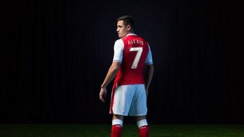 Alexis Sanchez Takes No.7 Shirt At Arsenal Following Tomas Rosicky's Departure