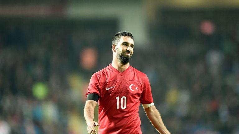 Arda Turan is the captain of Turkey