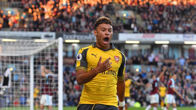 Alex Oxlade-Chamberlain is back in the England squad after a year out