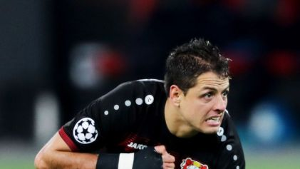 Javier Hernandez left Manchester United for Bayer Leverkusen