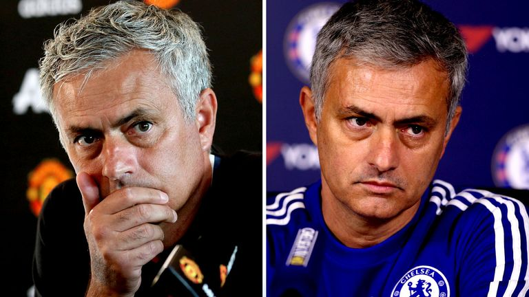 Jose Mourinho endured a poor start to 2015/16 with Chelsea and this season with Manchester United