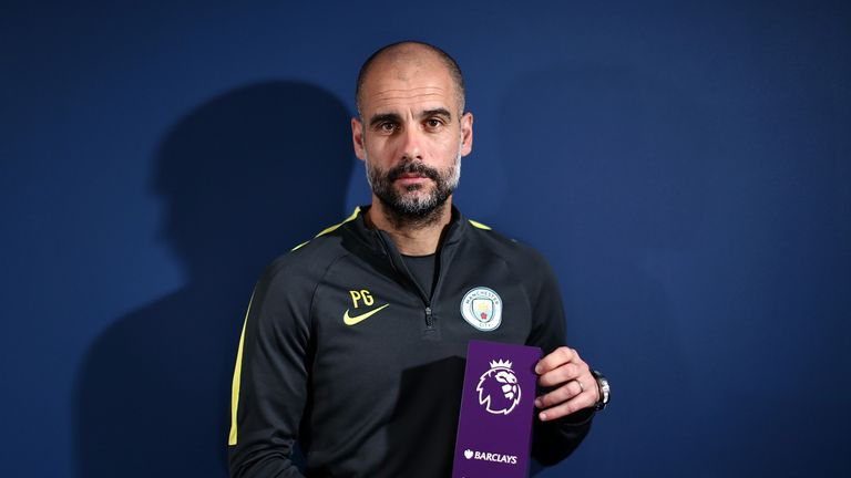 Pep Guardiola's City have won all three of their Premier League games in Feb