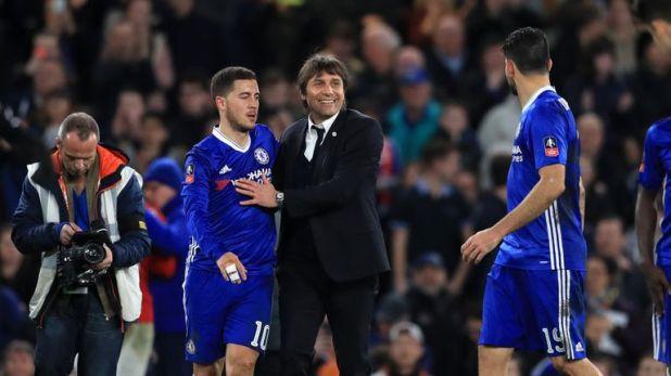 Antonio Conte demanded consistency from Eden Hazard