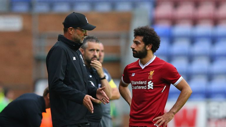 Klopp will be hoping that new signing Mohamed Salah can make a difference