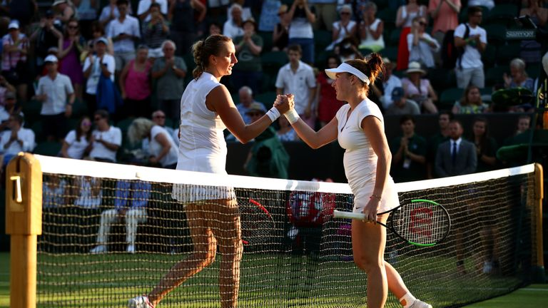 Image result for Petra Kvitova loses to Madison Brengle, but Venus Williams wins