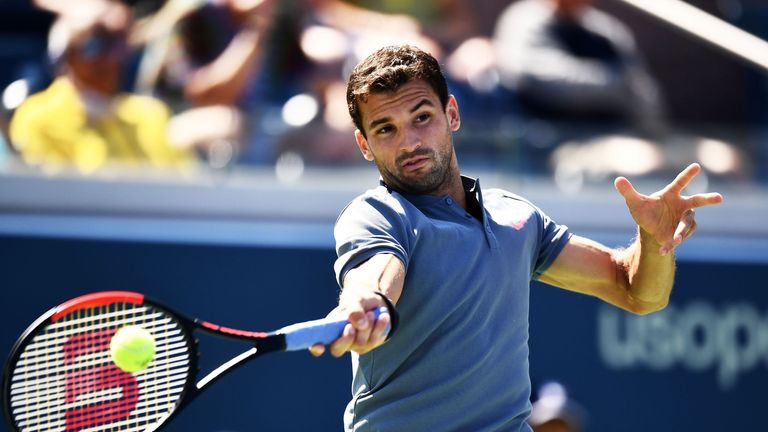 Image result for grigor dimitrov us open 2017