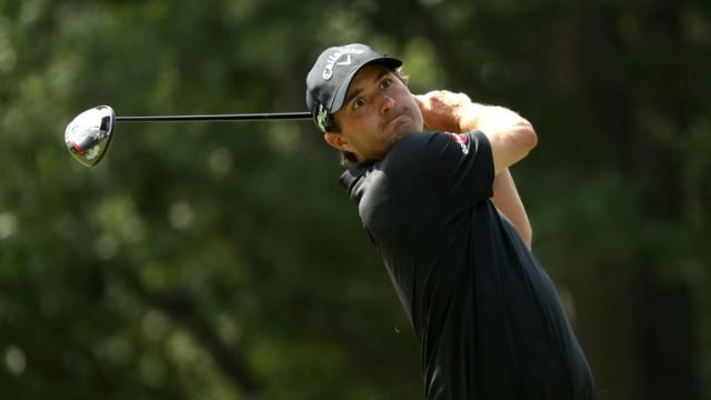 Kevin Kisner set the early clubhouse target at eight under