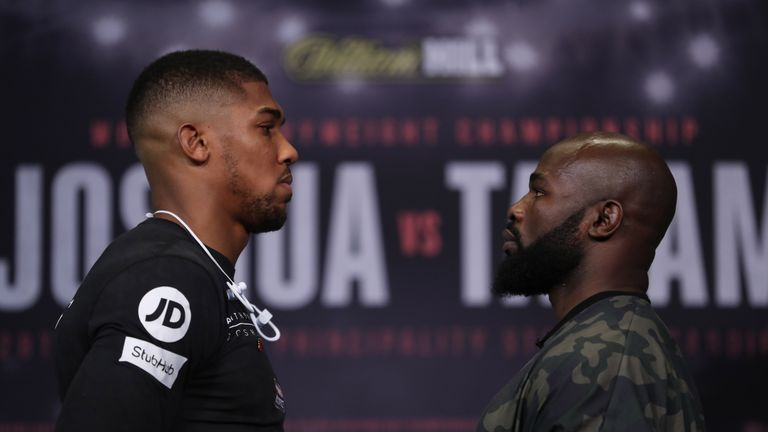 Joshua must cope with the muscular presence of Takam after Kubrat Pulev pulled out through injury