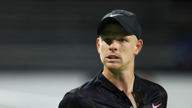 Kyle Edmund defeated veteran David Ferrer to progress in Vienna