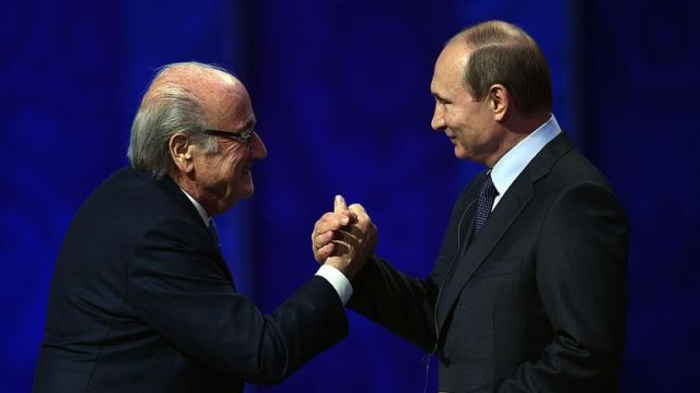 Former FIFA president Sepp Blatter has previously claimed that an agreement was in place to hold the 2018 World Cup in Russia before the vote in 2010 took place