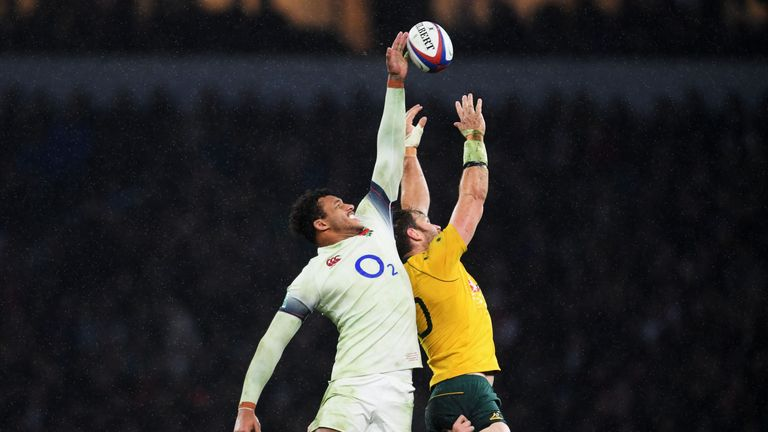 Courtney Lawes ruled the lineout against Australia