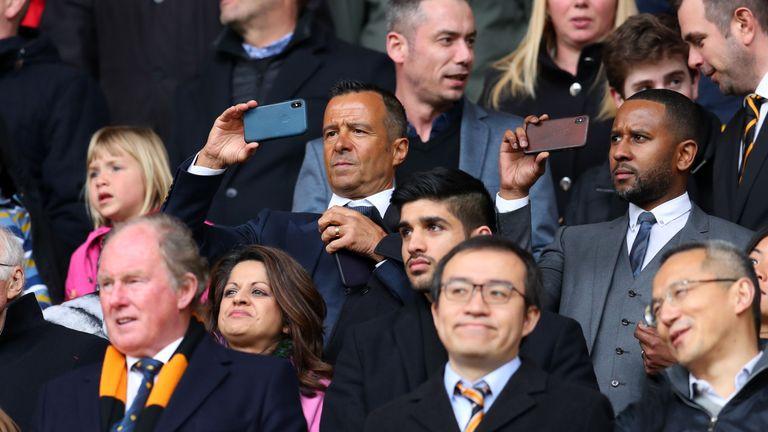 Moutinho est représenté par l'agent Jorge Mendes