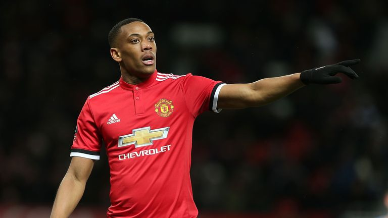 Will Tottenham turn to Anthony Martial in their search for another forward?