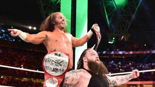 Matt Hardy recently had a run with the Raw tag team titles alongside Bray Wyatt