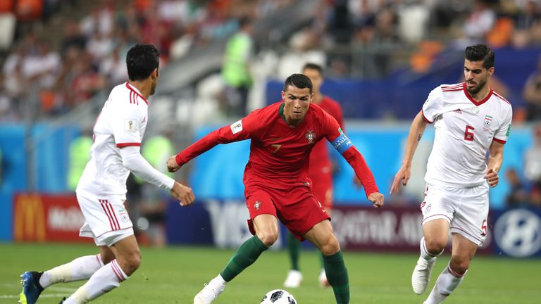 Iran 1-1 Portugal: Ricardo Quaresma goal sees Portugal ...