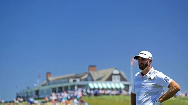 Dustin Johnson is chasing a second major title this week