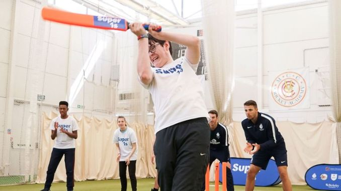 Super 1s is one of a number of schemes run by Lord's Taverners to help disadvantaged and disabled young people