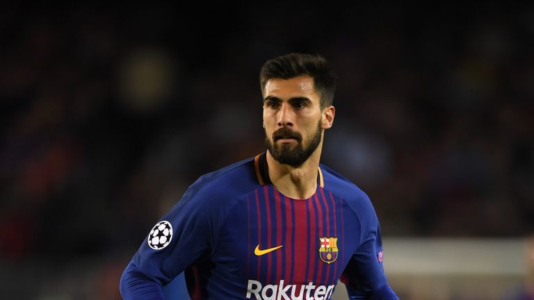 Andre Gomes is out with a hamstring injury