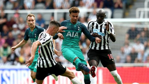 Dele Alli was on target for Tottenham at Newcastle