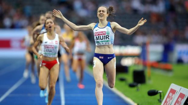 Laura Muir storms home to 1500m gold at the Europeans