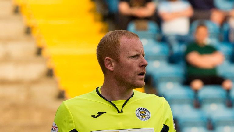 St Mirren goalkeeper Craig Samson hasn't kept a clean sheet in the league campaign so far
