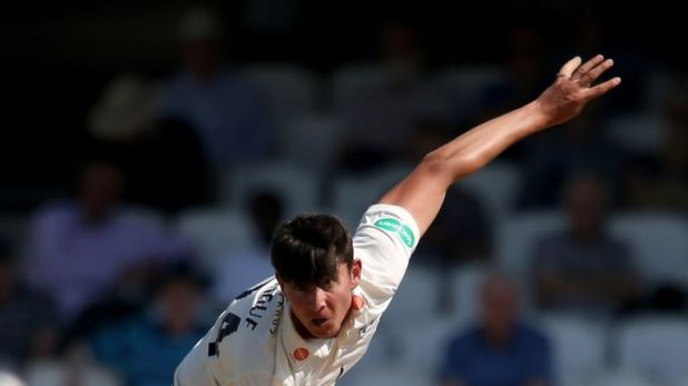 Young fast bowler Josh Tongue took 5-37 to help Worcestershire close in on victory