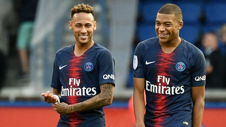 Image result for kylian mbappe and neymar