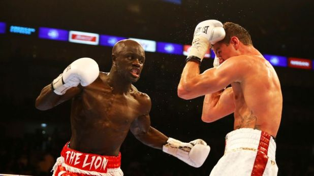 Yvan Mendy became the first man to beat Luke Campbell when the pair battled at The O2 in 2015