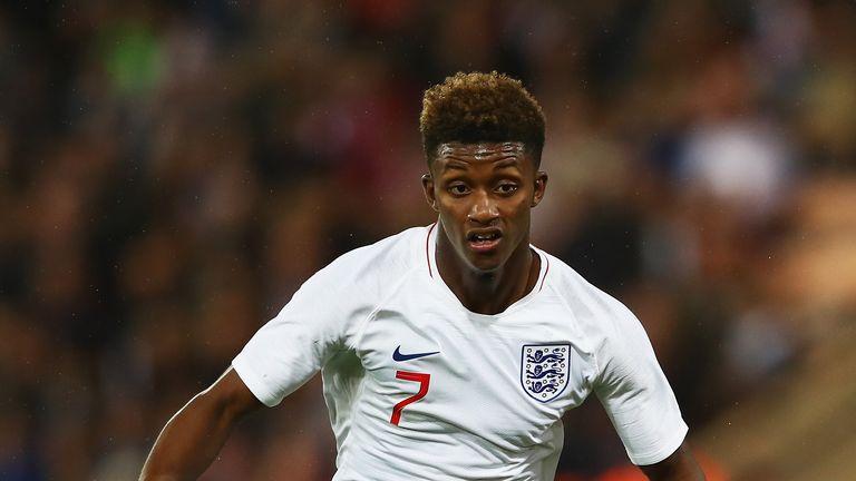 Demarai Gray has made 19 appearances for England U21s