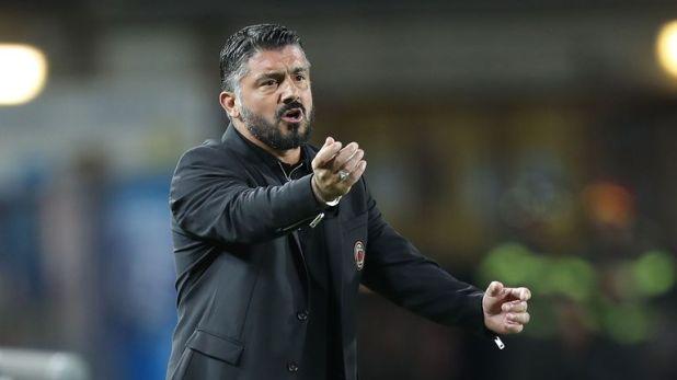 Gennaro Gattuso at AC Milan