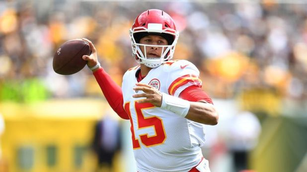 Patrick Mahomes now has 10 touchdowns in his first two games this season
