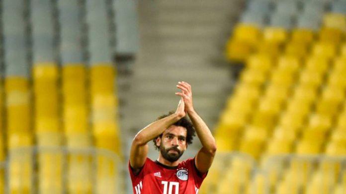 Salah a marqué son 38ème but international à l'occasion de sa 61ème sélection