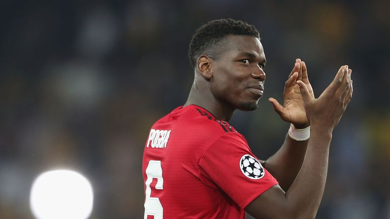 Paul Pogba continues to be linked with a move away from Man Utd