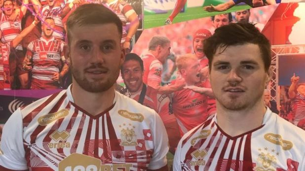 Joe Greenwood and John Bateman of the Wigan Warriors discussed a host of topics on a Facebook Live