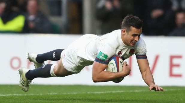 Lozowski's only England try came against Samoa at Twickenham during last year's Autumn internationals